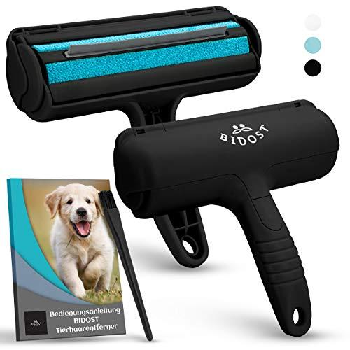 DAS ORIGINAL Premium Tierhaarentferner 3.0 stabile Fusselrolle Tierhaare für Sofas, Betten & Auto - Fusselbürste Tierhaare - Katzenhaarentferner Hundehaarentferner - Tierhaarroller