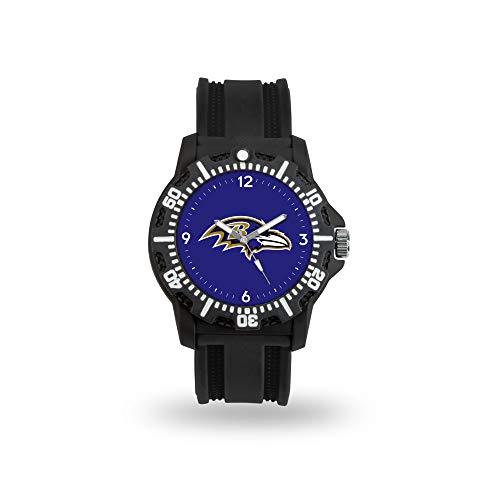 NFL Rico Industries Model Three Watch, Baltimore Ravens