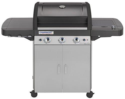 Campingaz 3 Series Classic LS Plus, Barbecue Grill, Nero/Grigio + Campingaz Y980000000 Regolatore di pressione del gas accessorio per barbecue/grill
