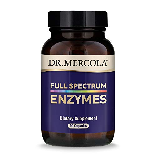 Dr. Mercola Full Spectrum Enzymes, 90 Capsules