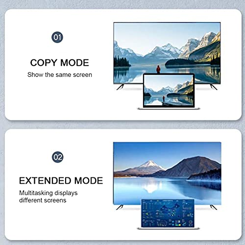 Al Cable, HD al Adaptador Macho a Macho 4Kx2K Práctica Estructura de blindaje de Doble Capa para computadora para TV(1 m)