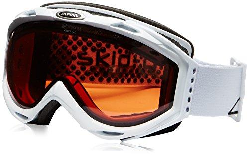 ALPINA Skibrille CYBRIC GT Weiß weiß Einheitsgröße