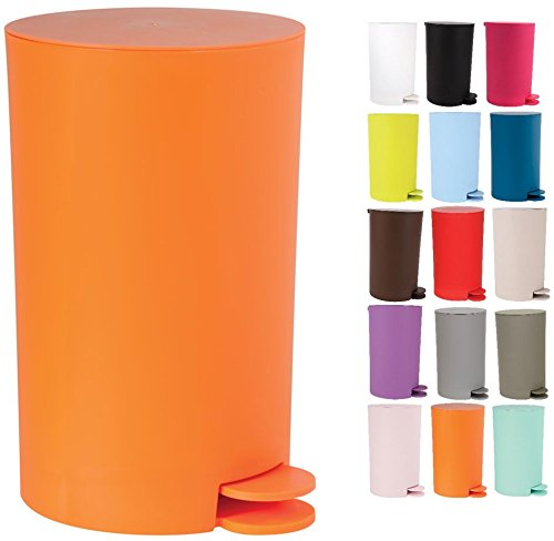 Cubo de Basura, Naranja, 0