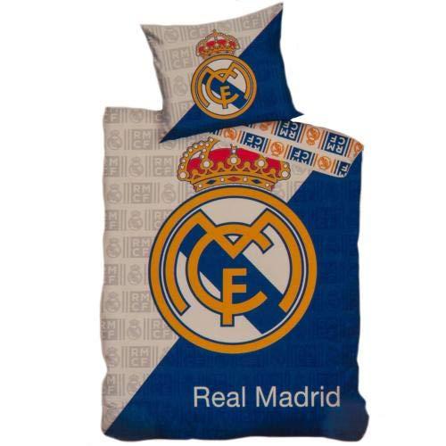 Real Madrid FC Single Duvet Set CR Official Merchandise