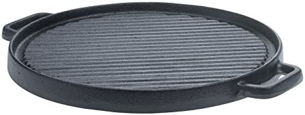 Tabletops Basic Essentials Pre Seasoned Cast Iron Cookware 12 Round Reversible Grill Griddle product image