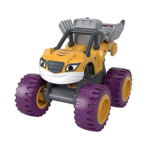 Blaze and The Monster Machines - GWX79 - Véhicule métal - Monster Engine Stripes - Die-cast - Neuf