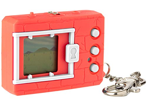 Digimon Bandai Original Digivice Virtual Pet Monster - Neon Red