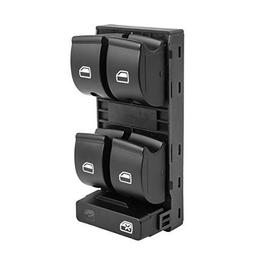 Lianlili Coche eléctrico PowerT Master Window Interruptor Botón Accesorios para automóviles para Audi A4 B6 Audi A4 B7