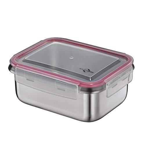 Küchenprofi Vorratsdose-Kp1001662800 Lunch-Boxen, Edelstahl, Grau, One Size