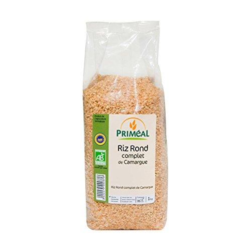 Priméal Riz de Camargue Rond Complet 1 kg