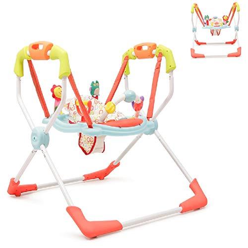 Moni, Hopser avec centre de jeux et musique Baby Jumper Activity Center X-factor, Farbe:verdoyant