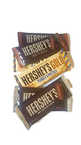 Hershey Bar - Juego de 3 barras de galletas y chocolate con