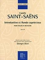 サン=サーンス: 序奏とロンド・カプリチオーソ Op.28/オリジナル版/デュラン社/ピアノ伴奏付バイオリン・ソロ楽譜