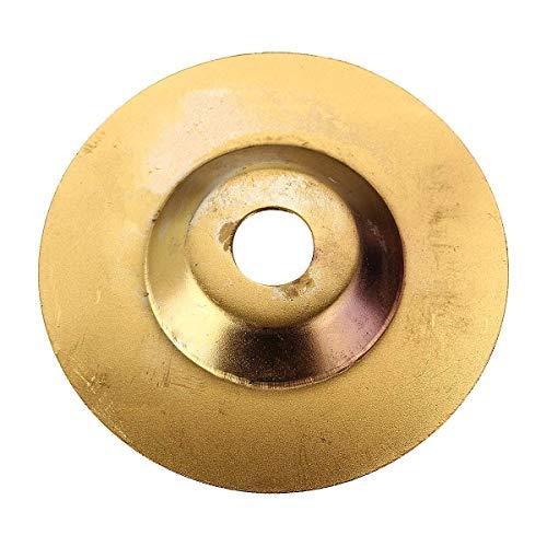 MOZUSA Duradera Abrasivo, 100x16mm Cristal de cerámica Saw Granito de Oro lámina del Diamante Disco de Corte de la Rueda Amoladora Angular Fit para Herramienta
