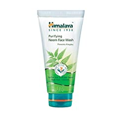 IDEAL FOR NORMAL TO OILY SKIN: Himalaya Purifying Neem Face Wash is a gentle and effective daily facial cleanser that removes impurities and fights occasional acne without drying your skin. EXPERIENCE THE WISDOM OF NEEM & TURMERIC: The time-tested co...