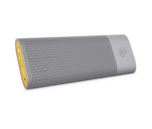 HP ROAR Bluetooth Lautsprecher grau/gelb
