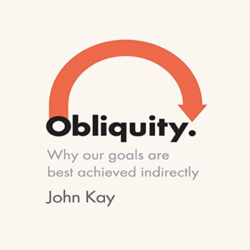 Obliquity audiobook cover art