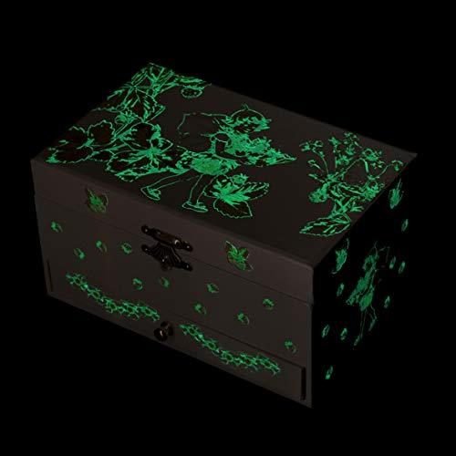"""Trousselier 60615 – Spieluhr """"TR Schublade XL Strawberry"""" (Spieldosen, Musikdosen, Spieluhren) das ideale Geschenk - 4"""