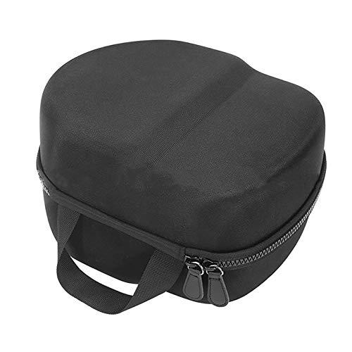 CNmuca Bolsa de armazenamento com capa protetora rígida Bolsa de transporte para fone de ouvido de realidade virtual Oculus Quest 2 preta 20 x 25 x 14 cm