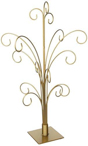 TRIPAR 34145 20 Inch Gold Color Ornament Tree