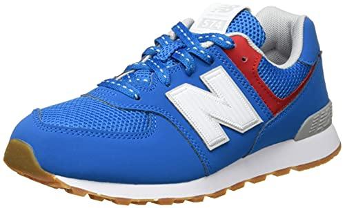 New Balance 574 Optiks Pack Sneaker, Blau (Wave), 37.5 EU