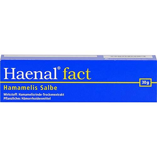 Haenal fact Hamamelis Salbe zur Anwendung auf der Haut, 30 g Salbe