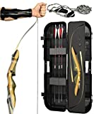 Spyder Takedown Recurve Bow - Ready 2 Shoot Archery Set | Includes Bow, Instructions, Premium Carbon...