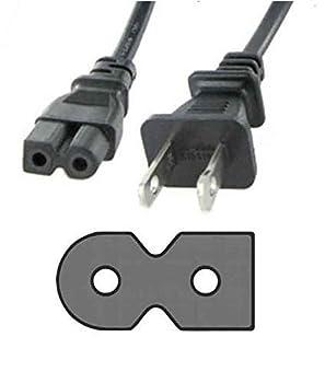 Power Cable Cord for VIZIO TV E320-A0 E320-A1 E221-A1