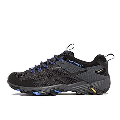 Merrell Women s Moab FST 2 GTX Walking Shoe, Black, 6 UK