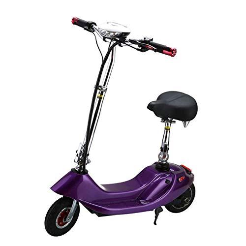 WXDP Patineta Cruiser Pro,Scooter eléctrico Sentado de 300 W, Scooter eléctrico Plegable...