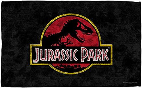 Toalla de playa Jurassic Park, poliéster supersuave y resistente a la luz, ideal para playas y piscinas (Jurásic Park4, 70 × 140 cm)