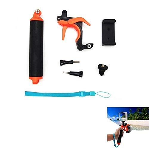 Nuevos accesorios impermeables Capucha de buceo Domo + Montura flotante de Bobber monopie de mano para Gopro Hero8 Hero7 6 5 4 3 + 3 Soportes de cámara Soporte de cámara (Color: Type4)