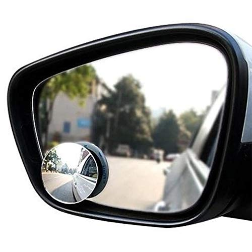Meiyea 2 Pack Blind Spot Mirrors For Cars - Waterproof 360 Rotatable Convex Rear View Mirror For Universal Cars