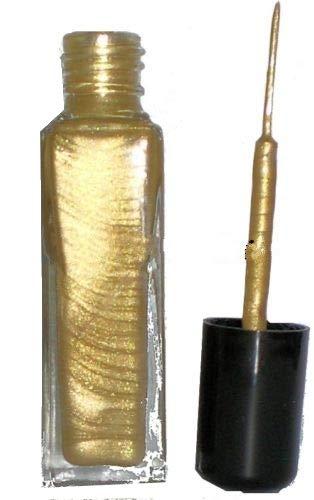8ml Fineliner, Nailartliner Gold Metallic in Glasflasche, deckend. Auf Lackbasis