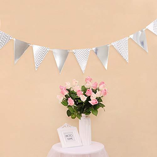 vlag, vlag, voor bruiloft, feest, verjaardag, geboorte, bruidsdouche Sliver triangle #12
