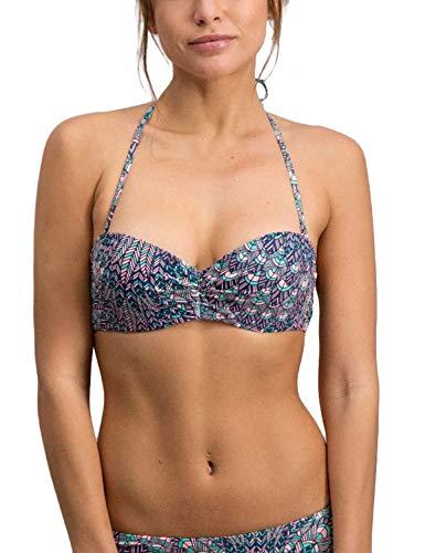 Shiwi Women's Fantastic Multicolor Bikini Top Multicolour in Size EU 36 / S