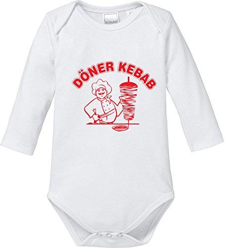 EZYshirt® Döner Kebap Baby Body Longsleeve Bio Baumwolle