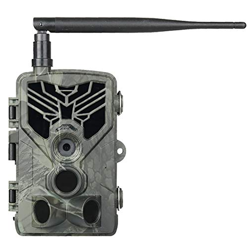 2G/3G/4G Wildkamera,SMS/MMS/SMTP Jagdkamera,HD 1080P 20MP Beutekameras,IP65 Wasserdichte 44PCS LED 940NM Infrarot-Nachtsicht Bis Zu 20M/65FT, Triggerzeit 0.3S,Mit 2,0LCD-Display Waldjagdkamera,2g