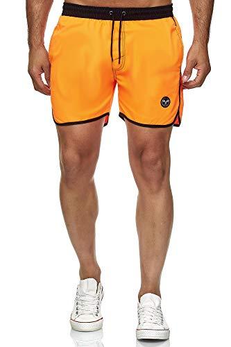 Kayhan Herren Badeshort Sport, Orange 6XL