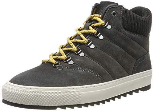 Marc OPolo 90824996301315, Zapatillas Altas para Hombre, Gris (Dark Grey 930), 41 EU