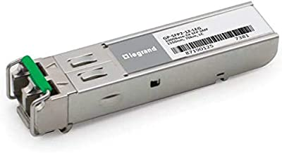 C2G Dell Force10 GP-SFP2-1Z Compatible 1000Base-ZX SFP Transceiver (SMF, 1550nm, 70KM, LC) TAA Compliant (GP-SFP2-1Z-LEG)