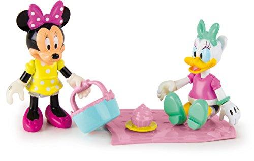 IMC Toys- Disney Pack 2 Minnie & Daisy Picnic Divertido, Multicolor (181960)