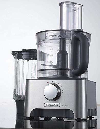 Kenwood FDM780BA, Robot da Cucina, 1000 W, capacità massima 3 L, Metallo/Plastica