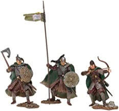 Lord of the Rings Armies of Middle Earth; Men of the Rohan Army Figure Set 1/24 Scale