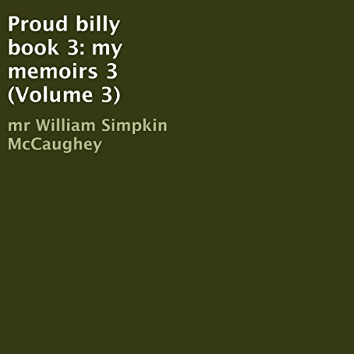 Proud Billy, Book 3 audiobook cover art
