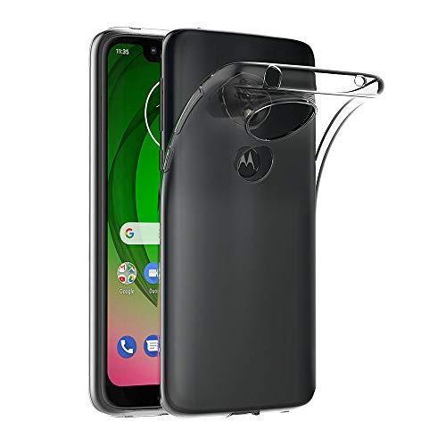 AICEK Funda Moto G7 Play, Transparente Silicona Fundas para Motorola Moto G7 Play Carcasa Silicona Funda Case (5,7 Pulgadas)