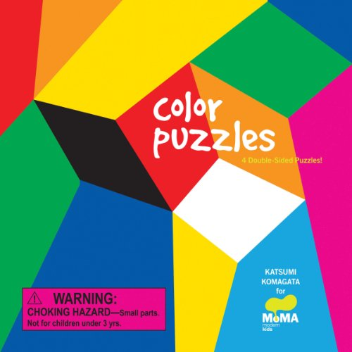 Color Puzzles: 4 Double-Sided Puzzles