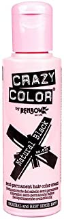 Crazy Color Natural Black Nº 32 - Crema colorante del cabello semi-permanente
