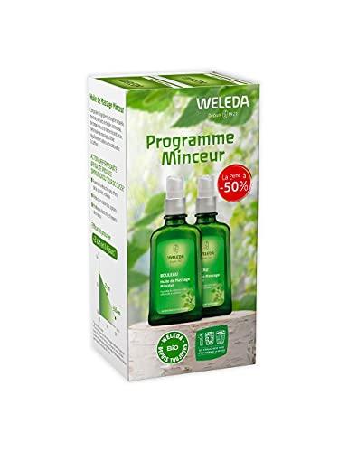 Weleda - Aceite de masaje con abedul, anticelulítico, 2 x 100 ml