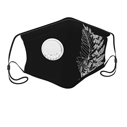 Der Letzte von Uns Ellies Tattoo Kindermaske mit Filter-Atemventil Einstellbar und wiederverwendbar Sturmhaube Schwarz